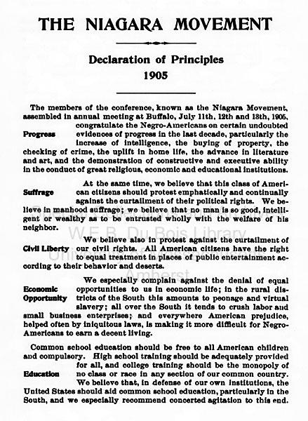 W.E.B. Du Bois: The Activist Life (pg. 7)
