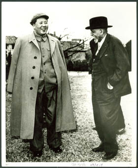 Du Bois and Mao Tse-Tung, 1959