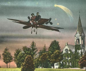 Massachusetts Agricultural College postcard
