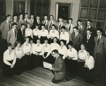 Doric Alviani and the MSC Glee Club