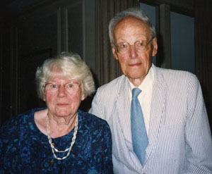 Betty and David Inglis, June 1992