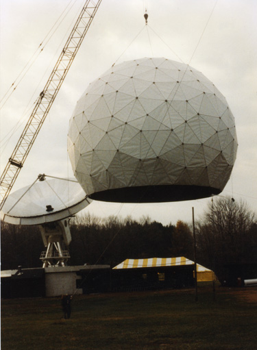 Depiction of Five College Radio Observatory