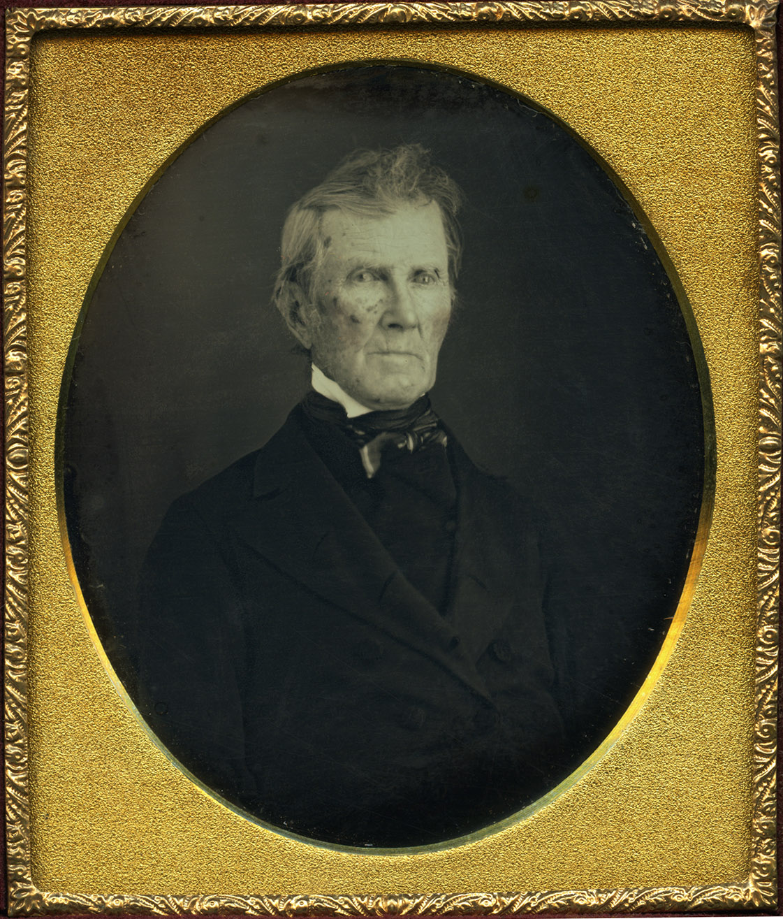 Depiction of Stephen Thacher, ca.1853