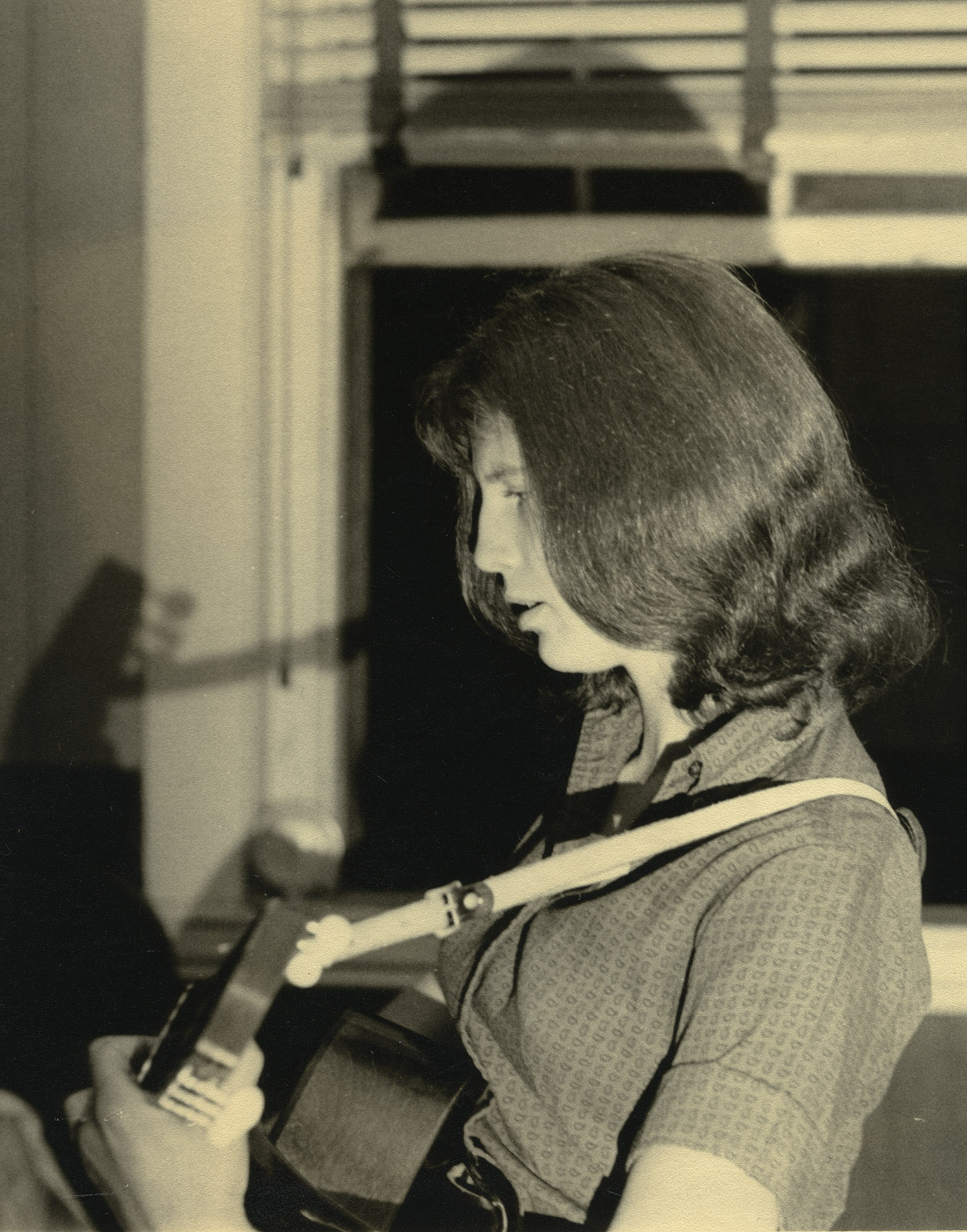 Image of Betsy Siggins, ca.1959. Photo by Alan Klein
