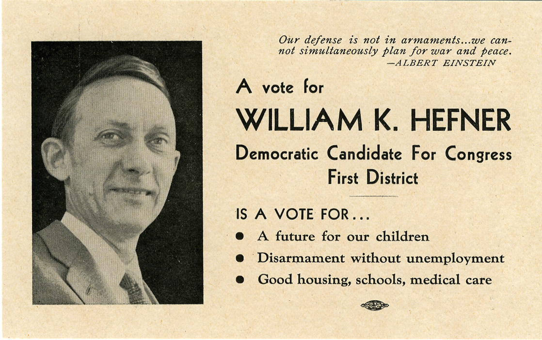 Bill Hefner for Congress