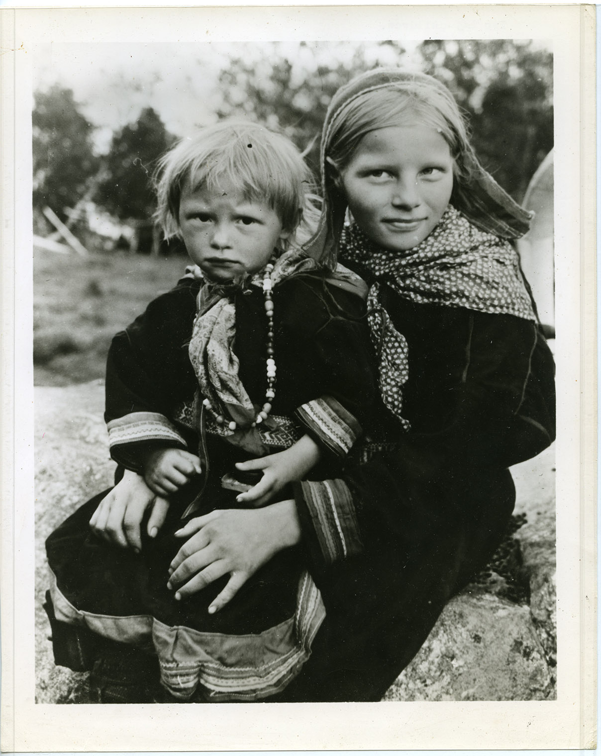 "An image of: ""Lapp children"""