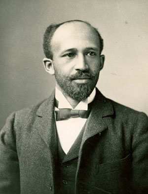 Depiction of W.E.B. Du Bois