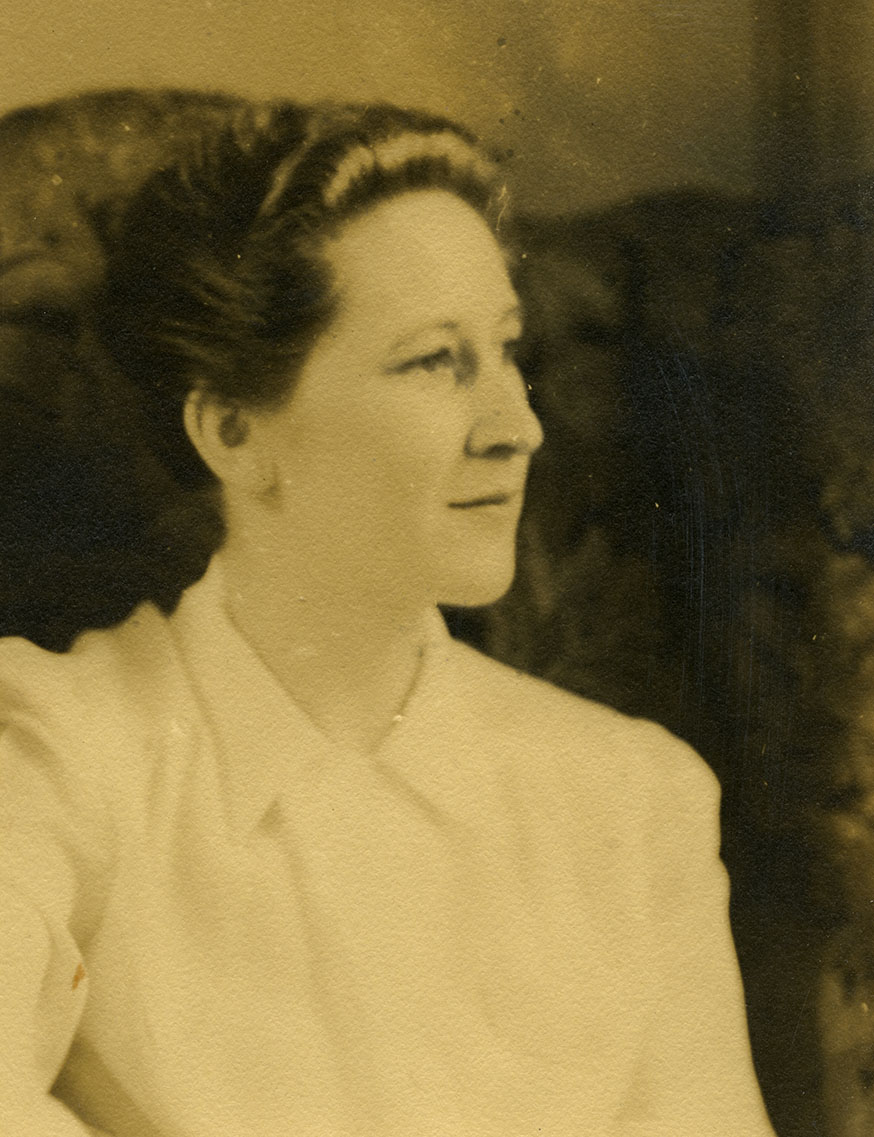 An image of: Portrait of Mary Doyle Curran.
