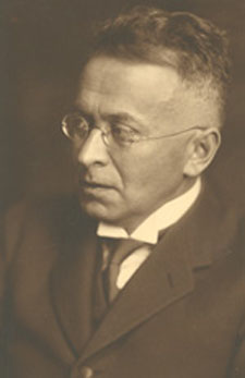 Depiction of Karl Krauss