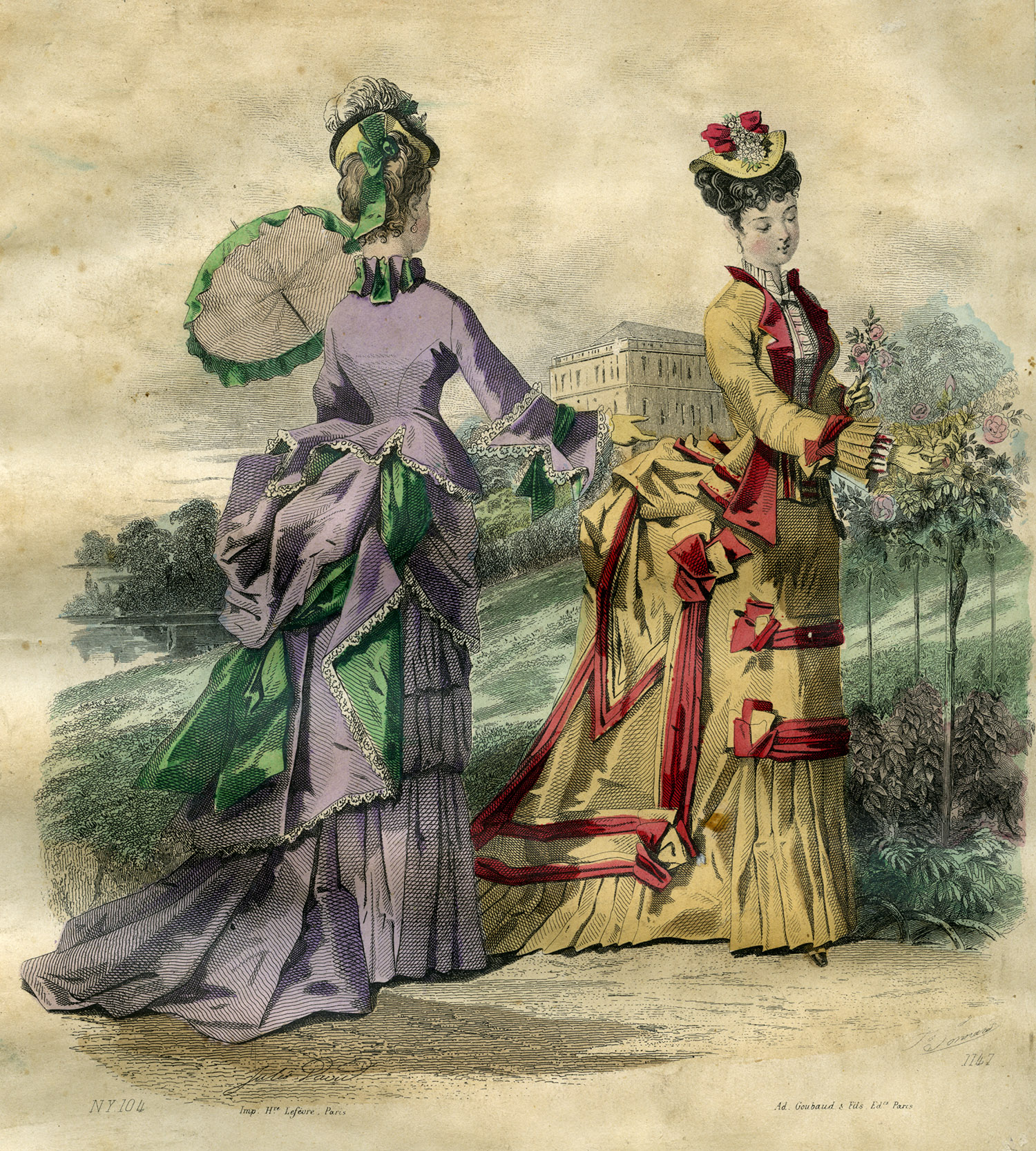 An image of: Fashion plate