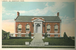 Depiction of Deerfield Public Library