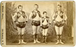 Acrobat troupe