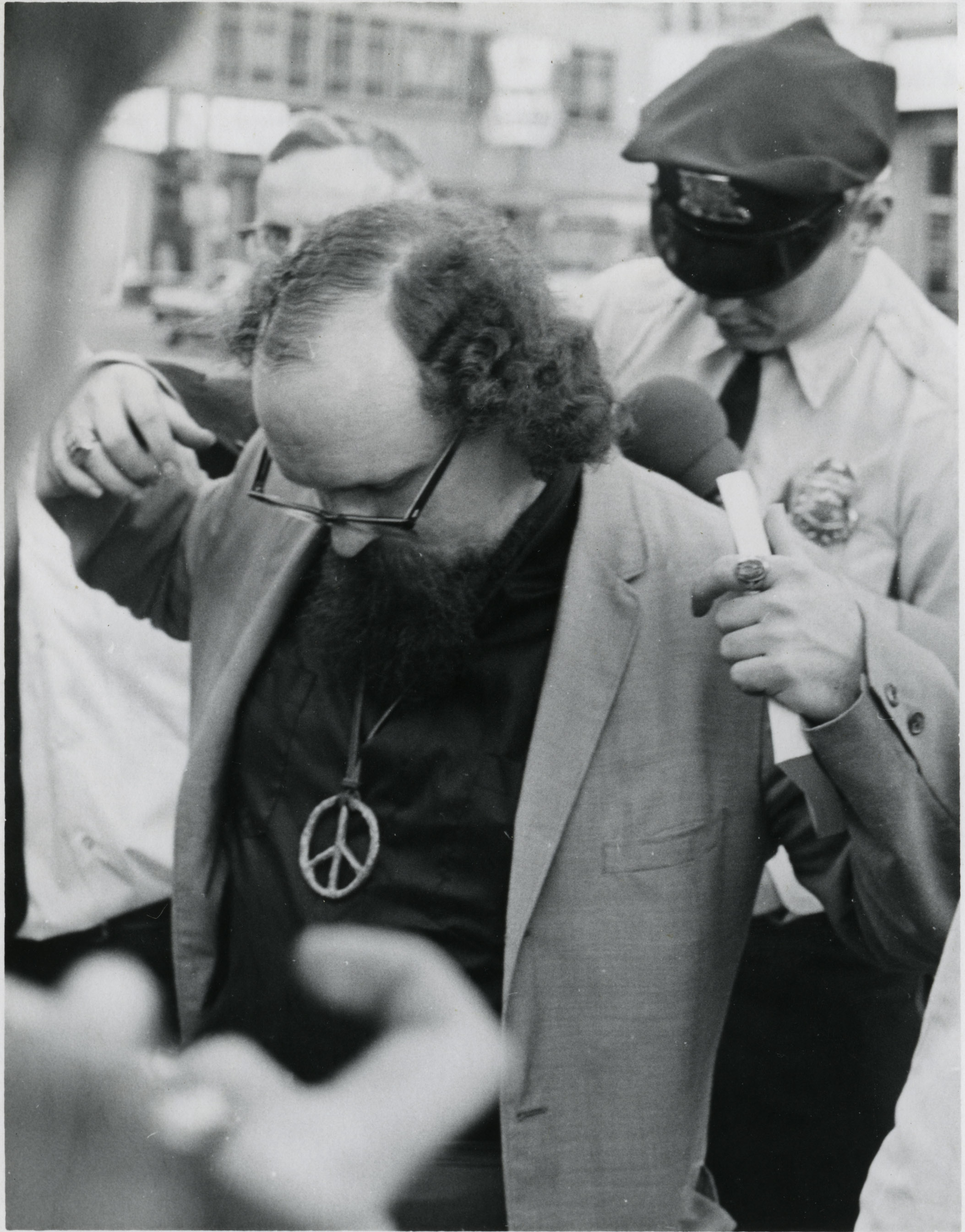 Arrest of Jon Higgenbotham (Milwaukee 14), Sept. 24, 1968