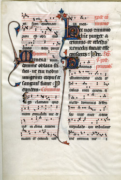 Depiction of Beauvais Missal