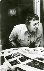 Ebert in studio