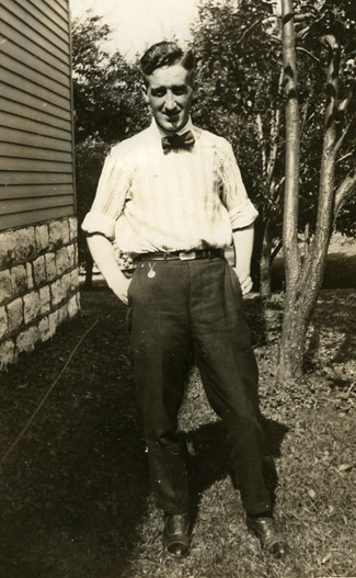 An image of: Clinton Brann, ca.1919