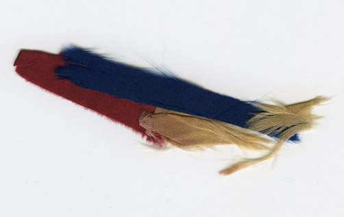 Image of Fragments of the 1st Massachusetts Infantry flag