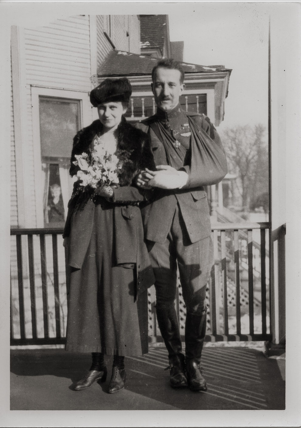 Image of Waldo Huntley Heinrichs and Dorothy Peterson, 1919