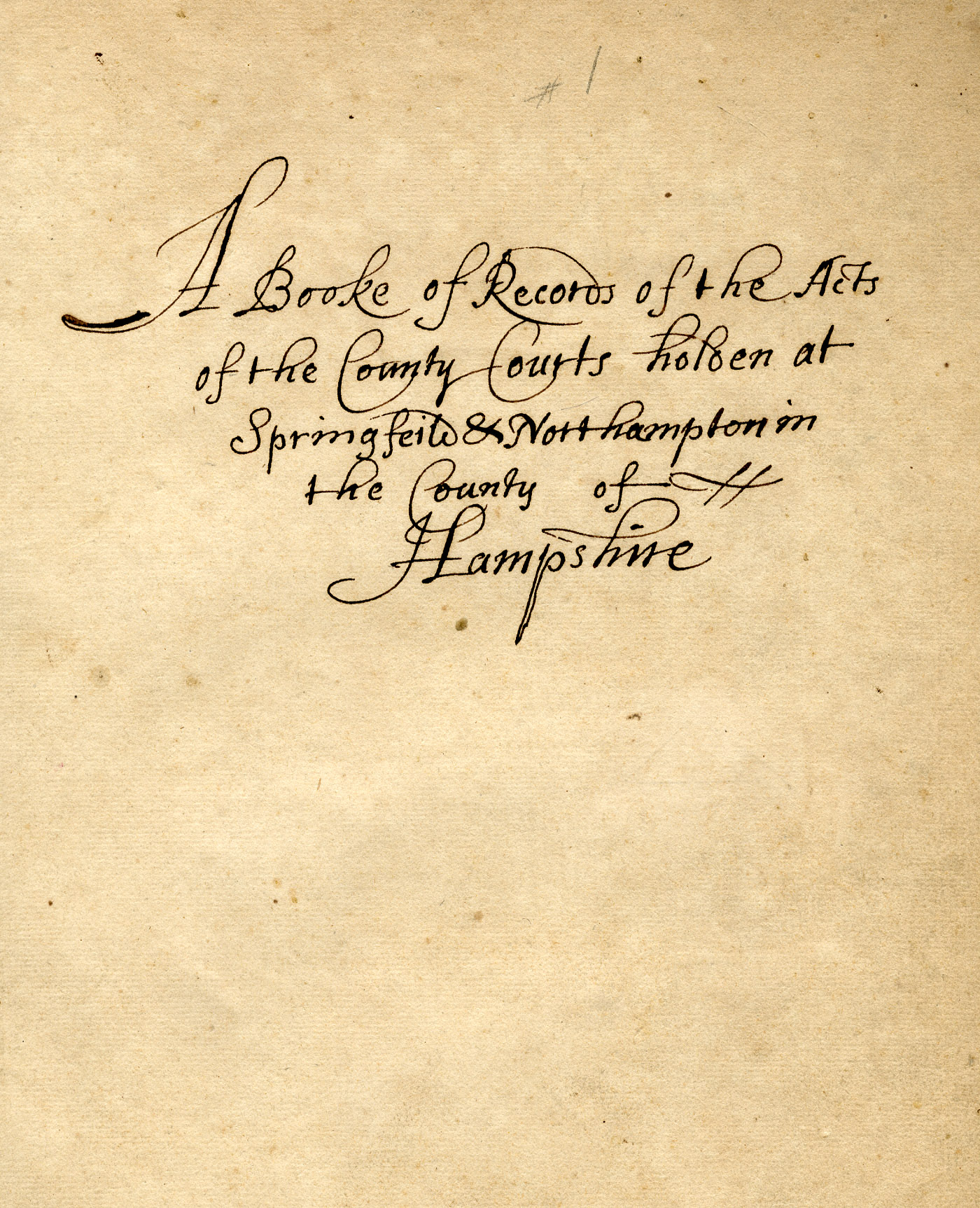 Depiction of Title page, Volume 1 (1671)