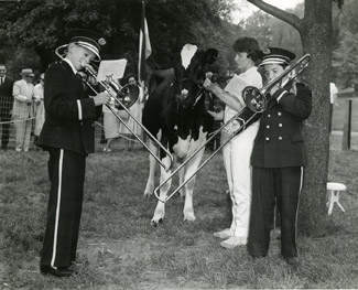 Image of New England agricultural event