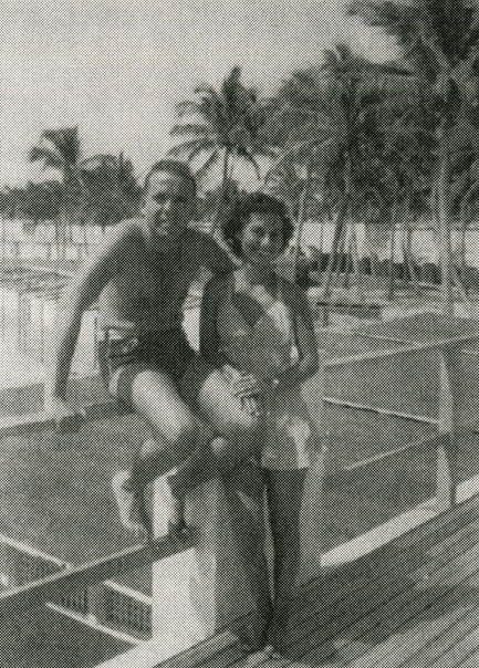Depiction of George and Lillian Millman