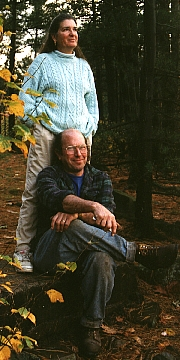 Depiction of Bill and Suzanne Duesing