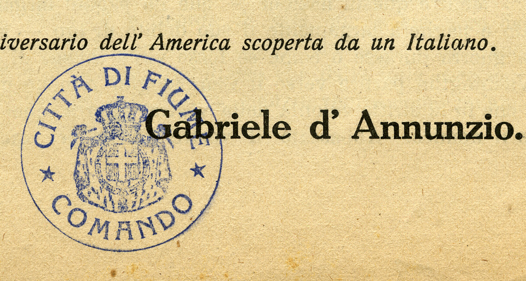 Gabriele D'Annunzio Collection image