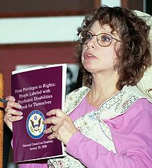 Image of Judi Chamberlin, 2000