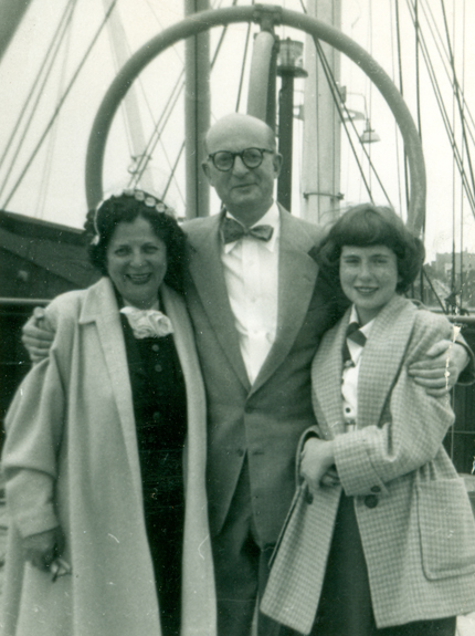 Carl Halpern and family