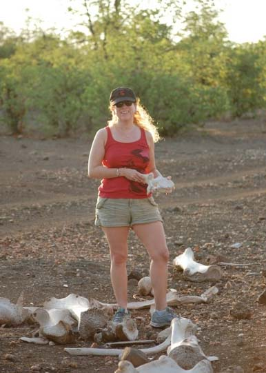Image of Jodi Picoult in Botswana, January 2013