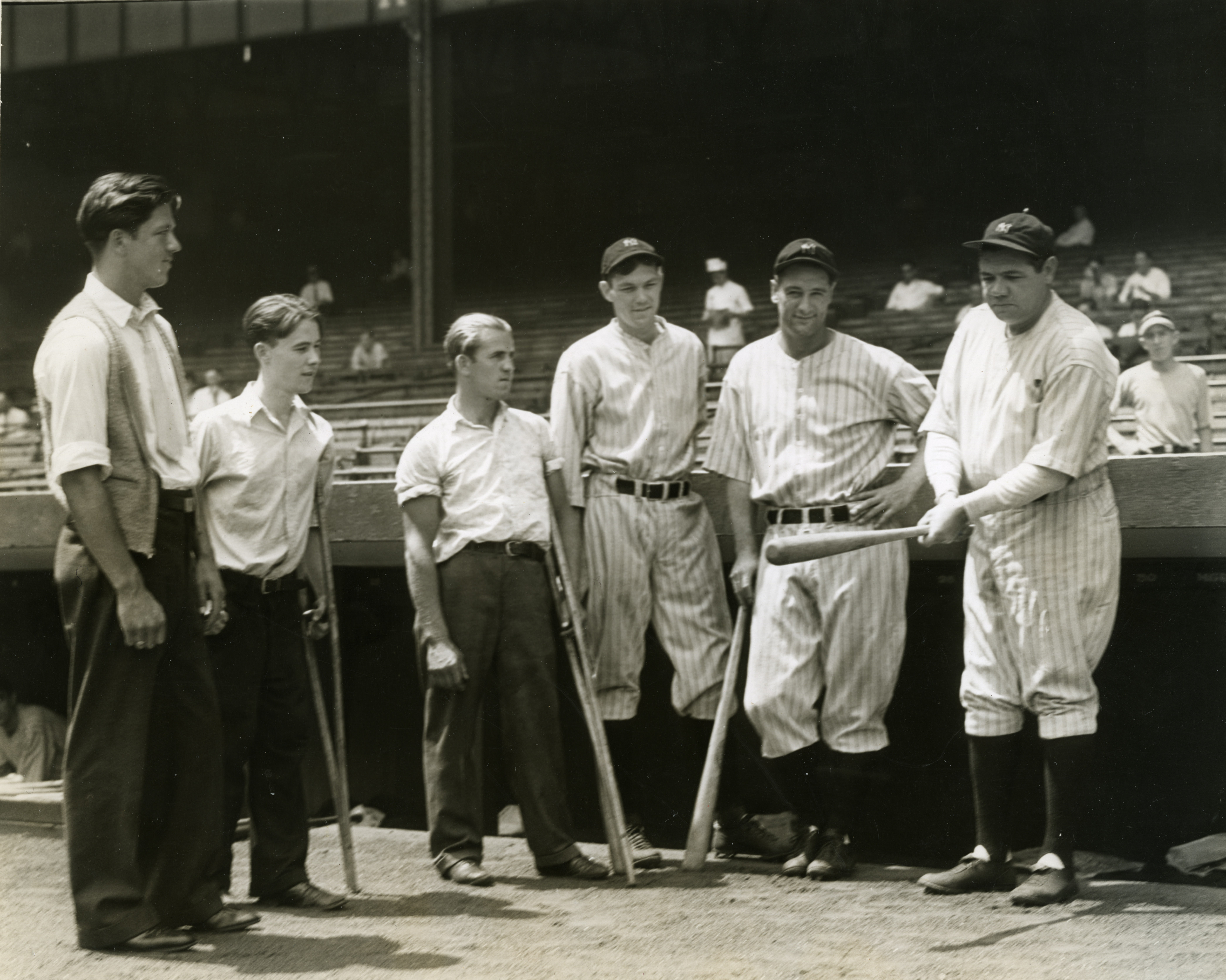 Image of New York Yankees hosting ICD, ca.1925