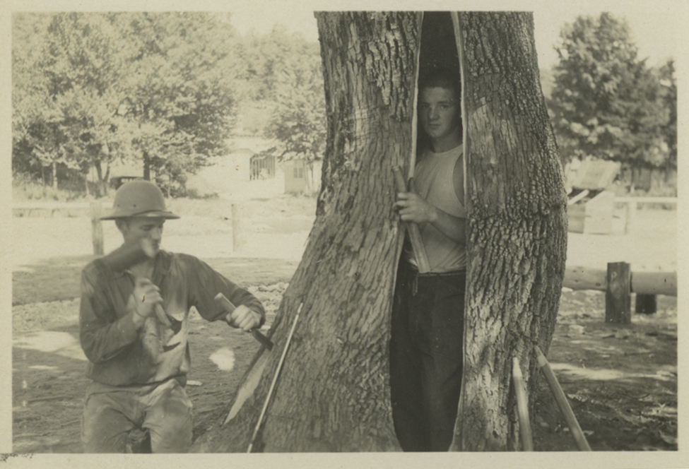 Image of CCC camp
