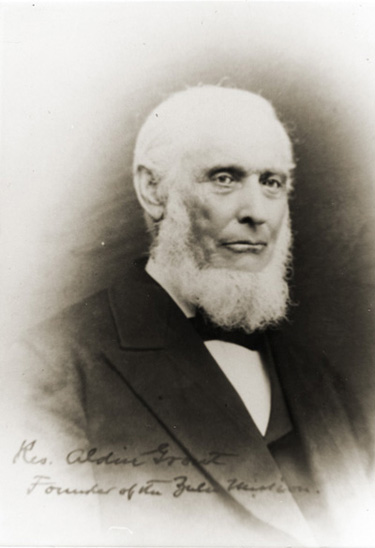 Image of Rev. Aldin Grout