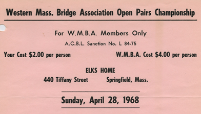 Western Massachusetts Bridge Association Records image