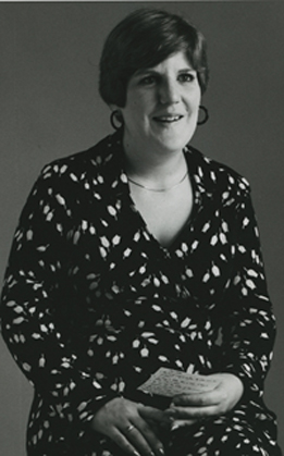 An image of: Rae Unzinger, ca. 1980