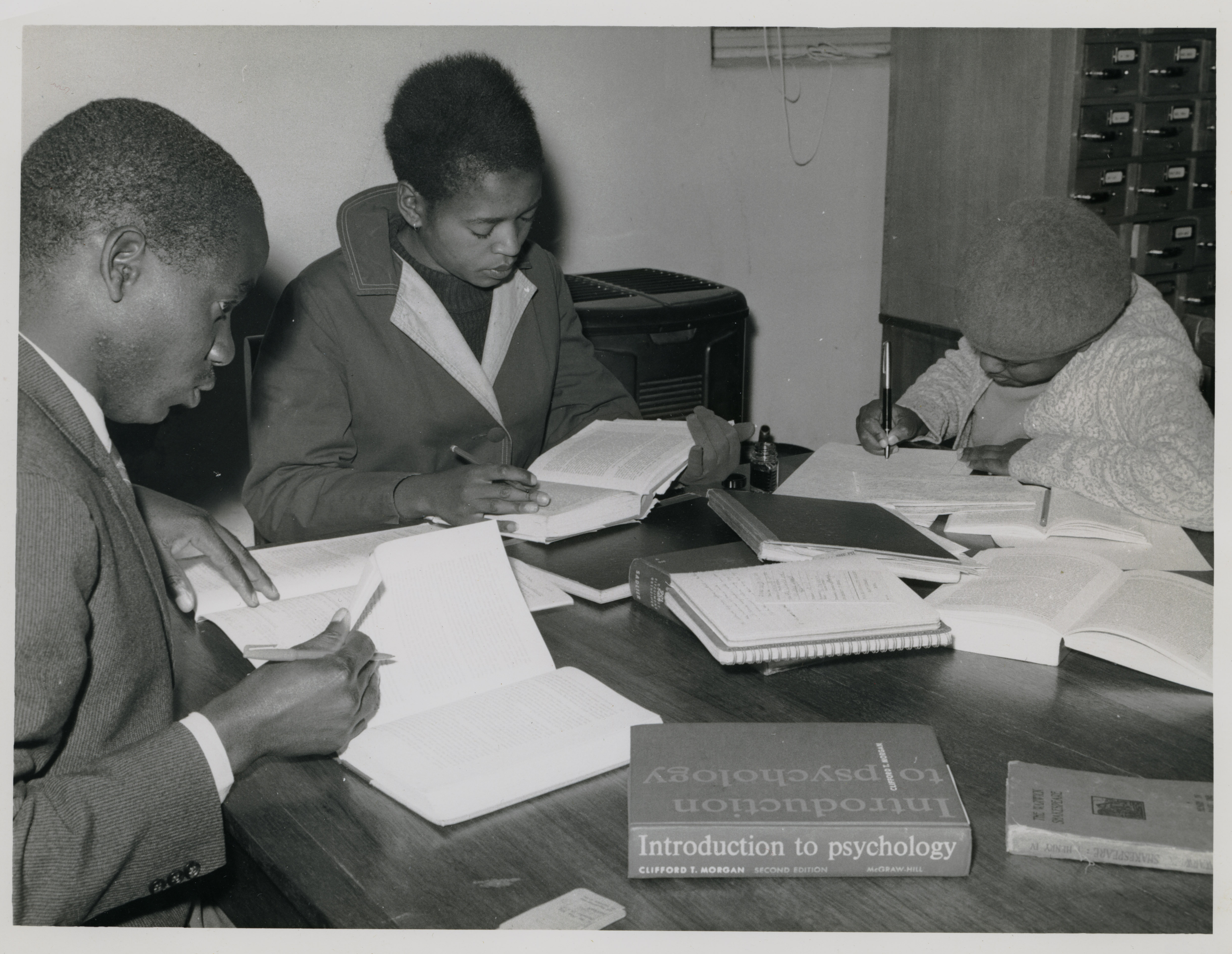 Depiction of Studying in Lesotho, 1963