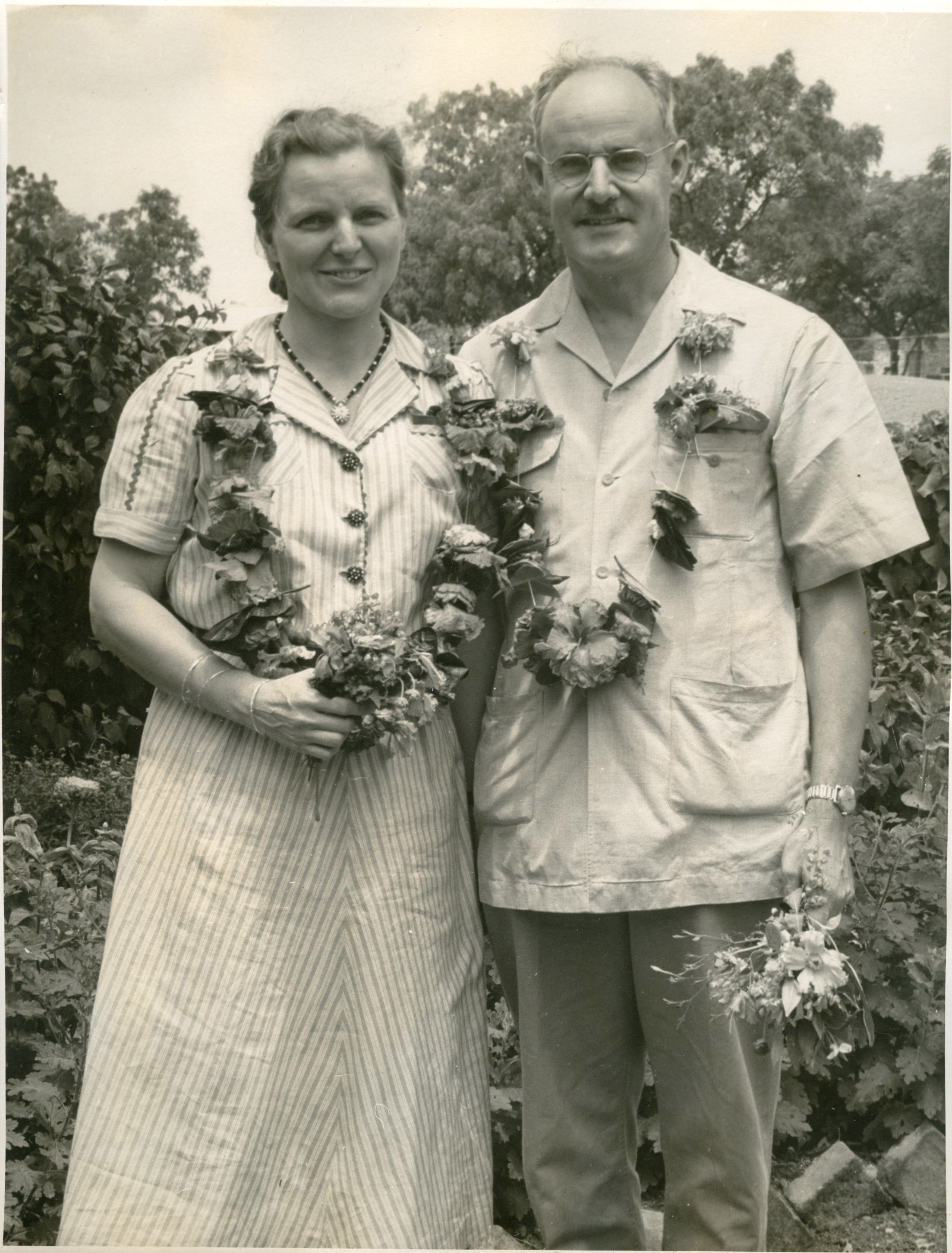 Gifford and Marjorie Towle, 1957