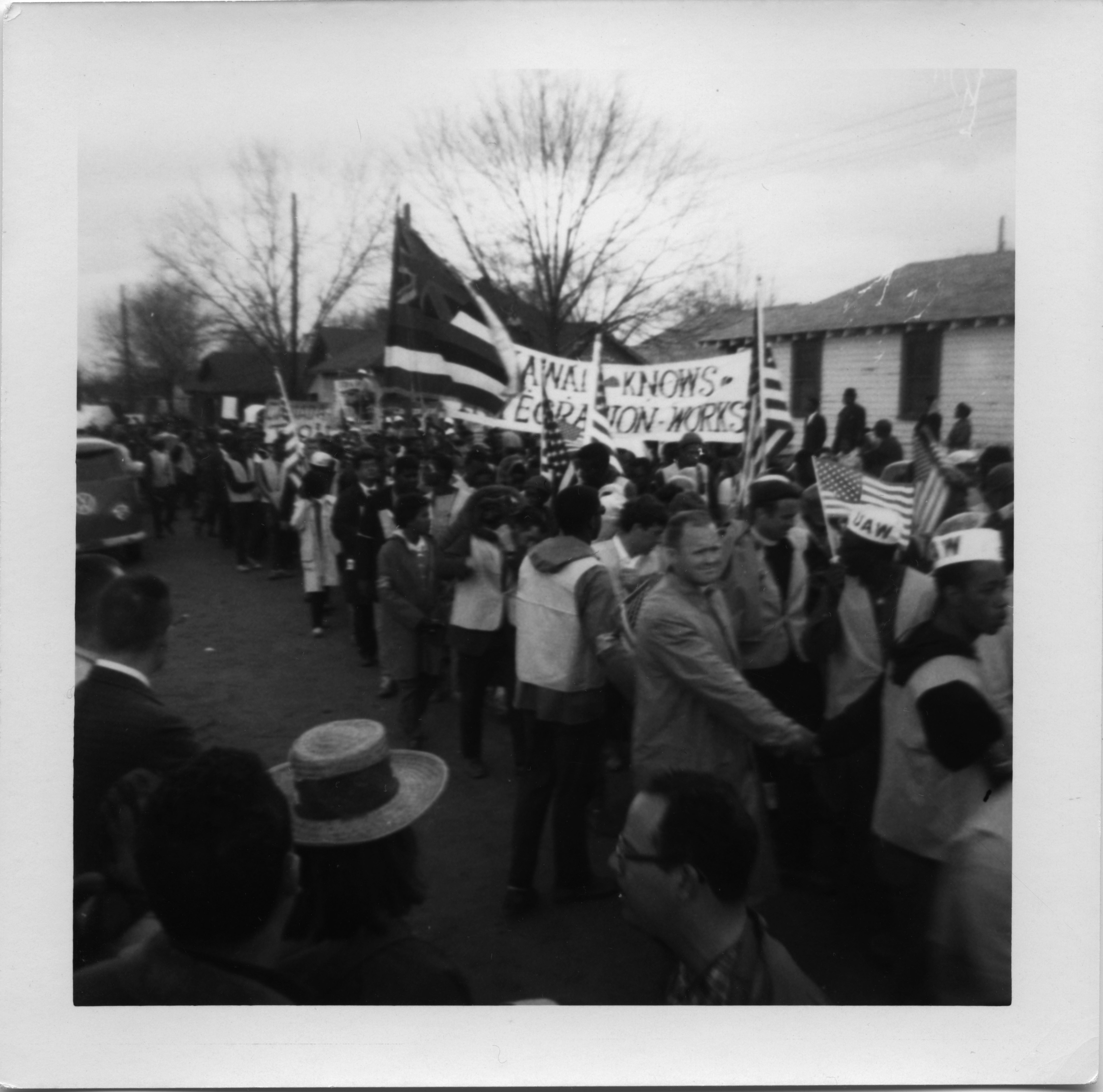 Image of Civil rights march from Selma to Montgomery, Ala., March 1965