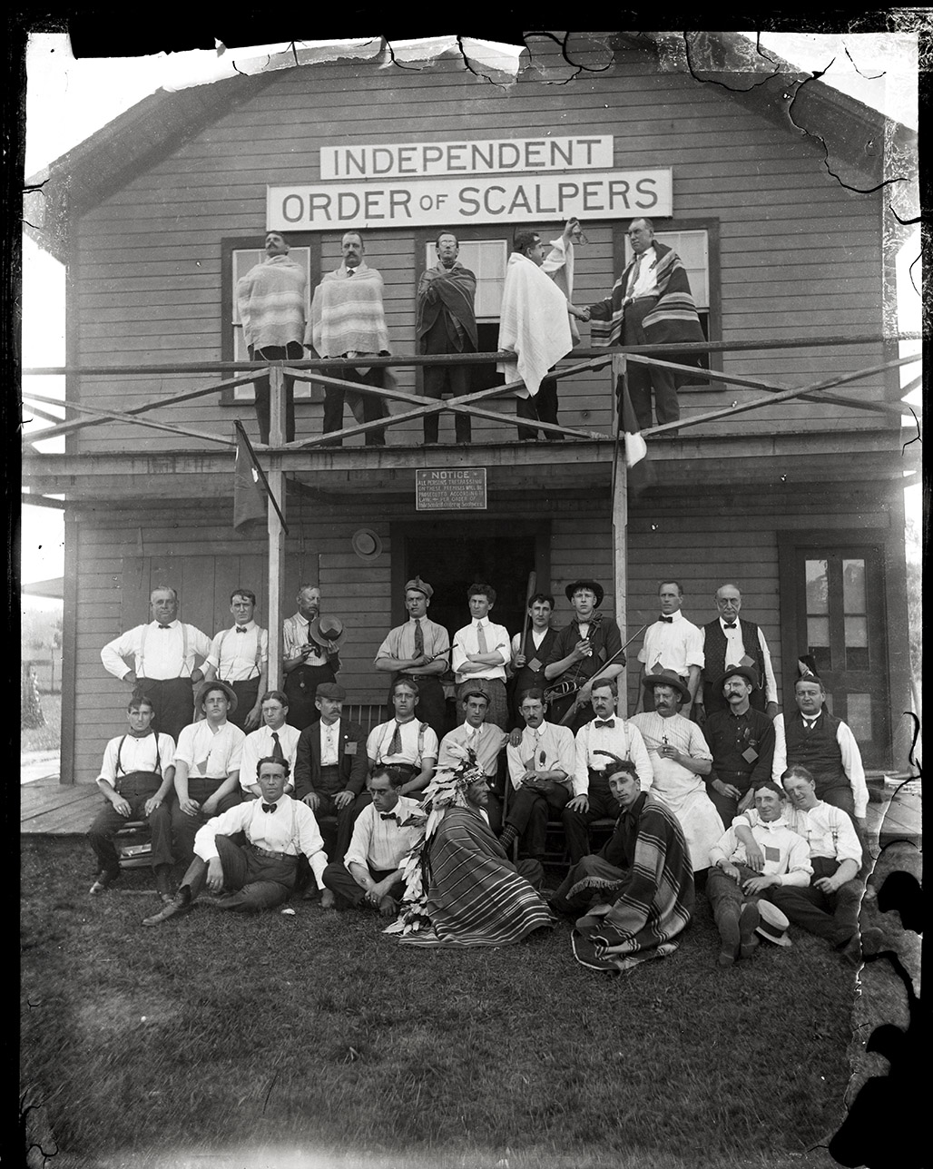 Independent Order of Scalpers club, ca.1900