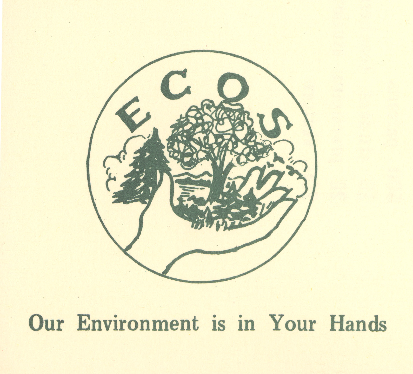 Depiction of ECOS logo