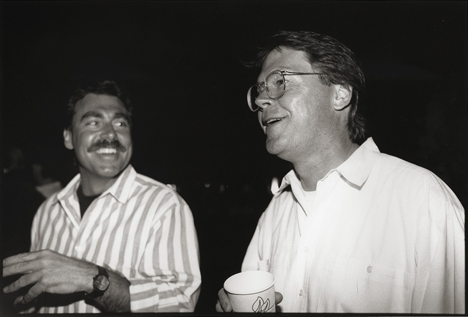 Depiction of Doug Kraner (right)<br />Photo By <a href='http://www.mylesaronowitz.com/'>Myles Aronowitz</a>