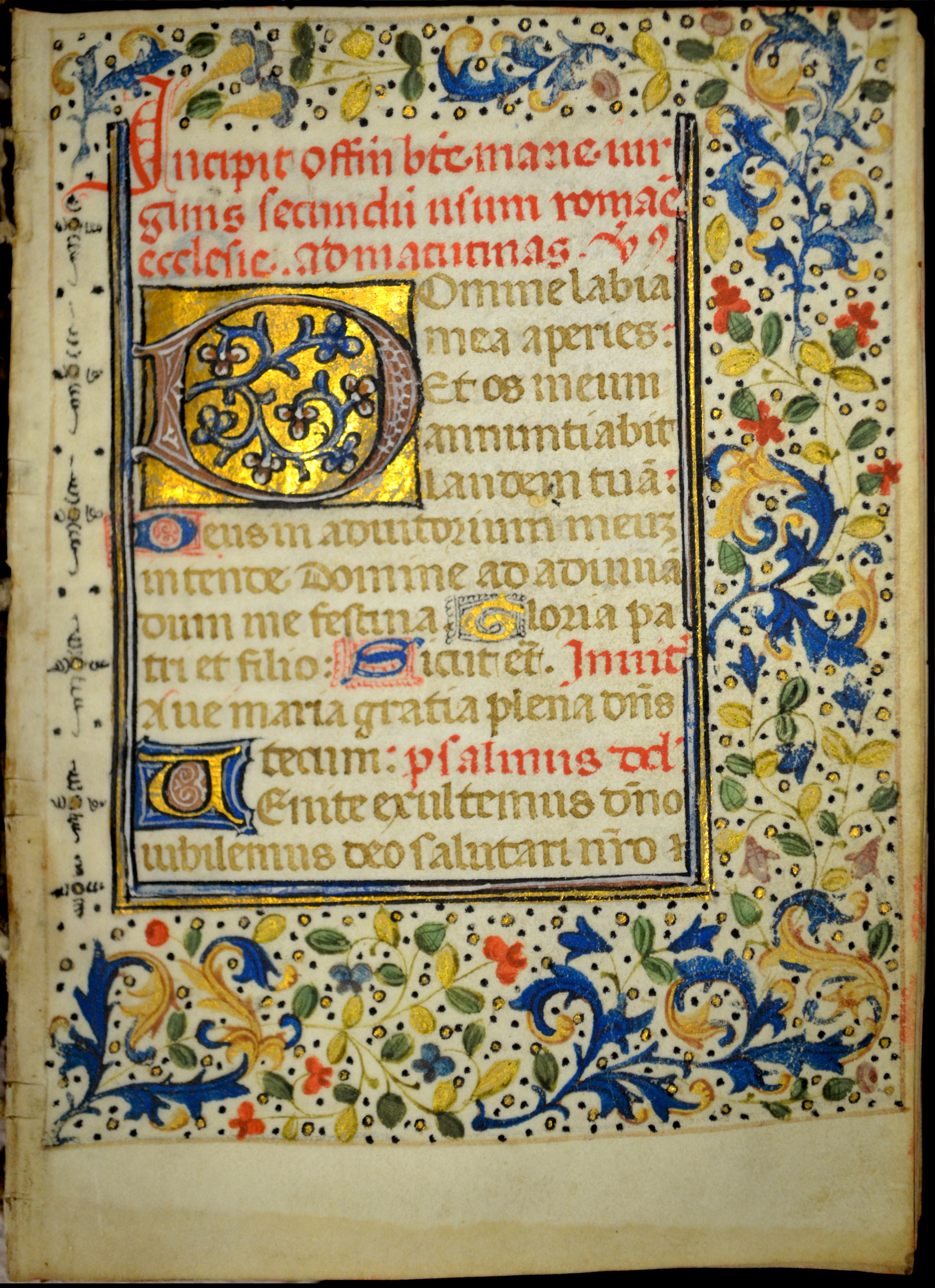 Book of Hours (Use of Rome) image