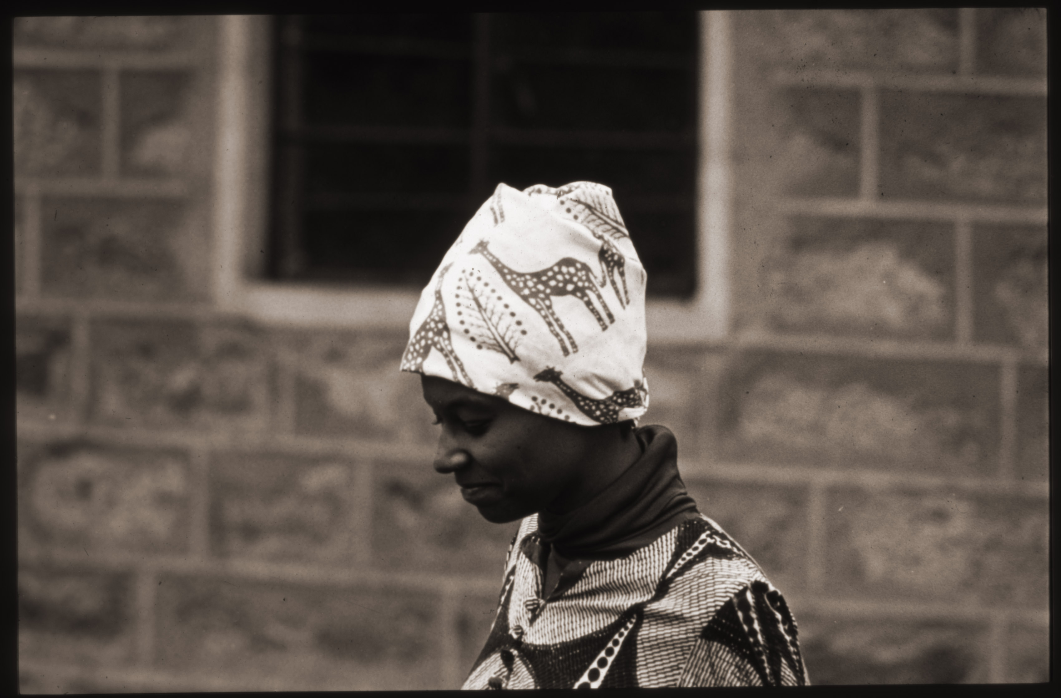 Image of Carolyn Martin Shaw in Kenya, ca.1972