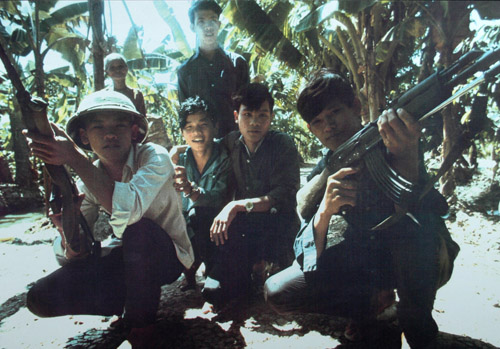Depiction of Vietnamese soldiers, ca.1973