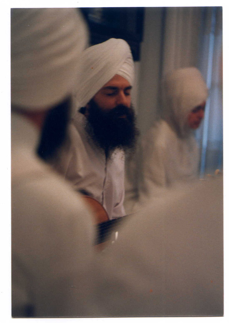 An image of: Gurushabd Singh (Stephen Josephs), ca.1972