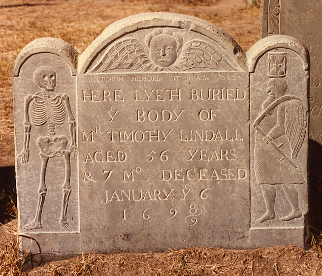 Timothy Lindall, Salem, Mass., 1699