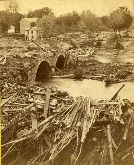 Mill River Flood Stereographs image