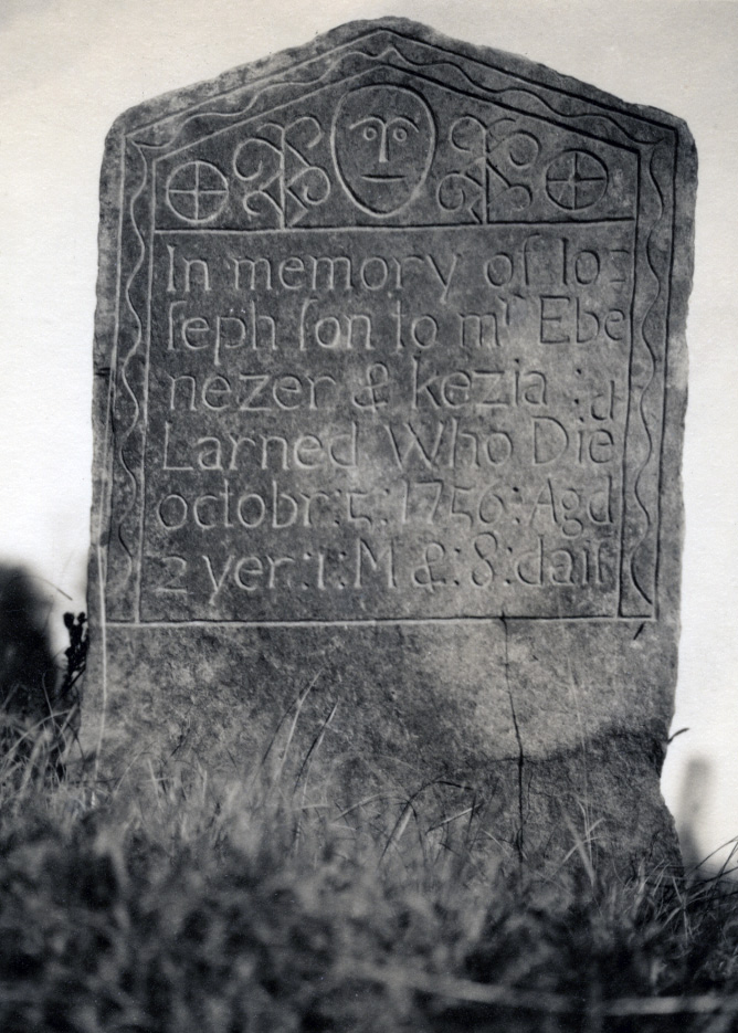 Depiction of Gravestone in Putnam, Conn.