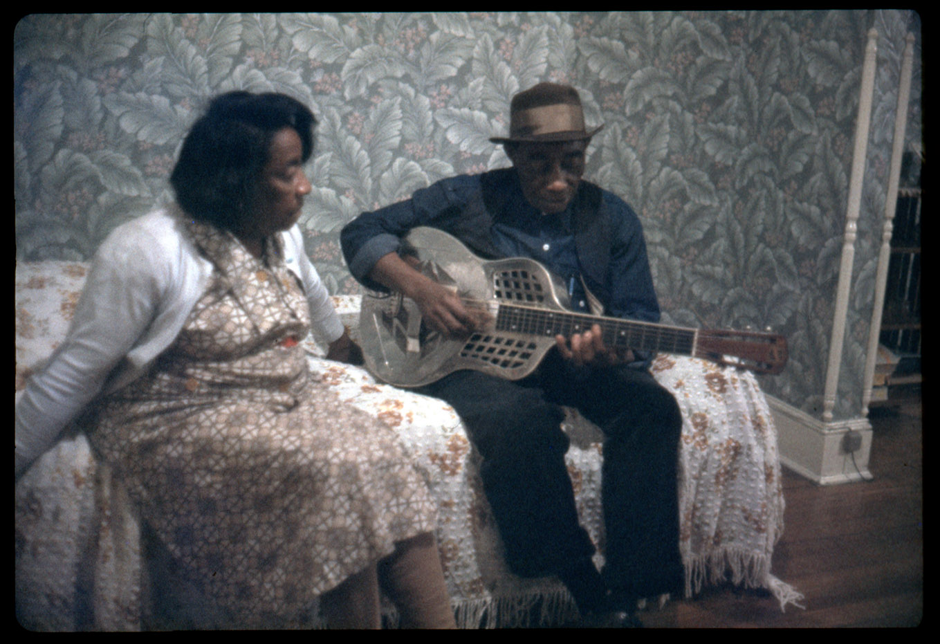 Depiction of Mississippi John Hurt, ca.1965