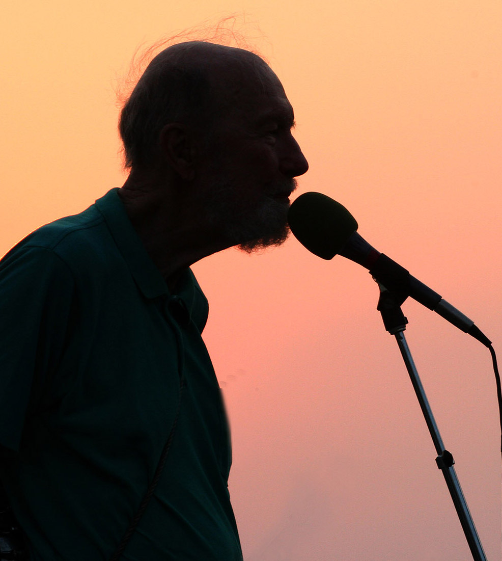 Depiction of Pete Seeger, 2006